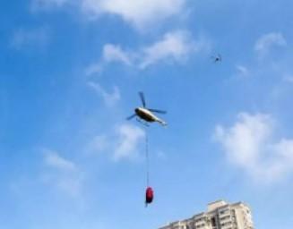 郑州无人机厂商与驻军单位对无人机运输投送能力进行实飞验证