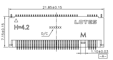 KEY-M接口H4.2的SSD硬盘接插件连接器规格原理图免费下载