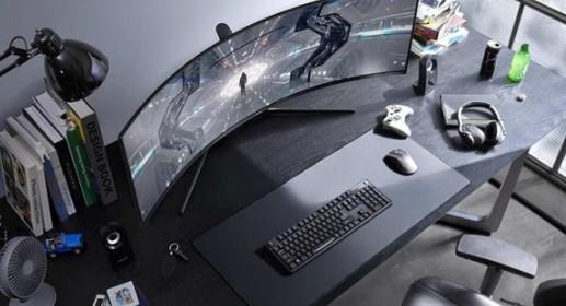 三星将推出Odyssey G9新显示器,首款1000R曲线的消费级显示器