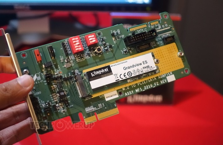 金士顿中端PCIe 4.0 SSD将推出,高性价比
