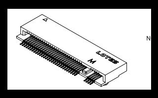 KEY M2 NGFF连接器的规格原理图免费下载
