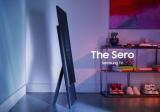 三星展出新形态电视产品,能旋转屏幕当大屏手机