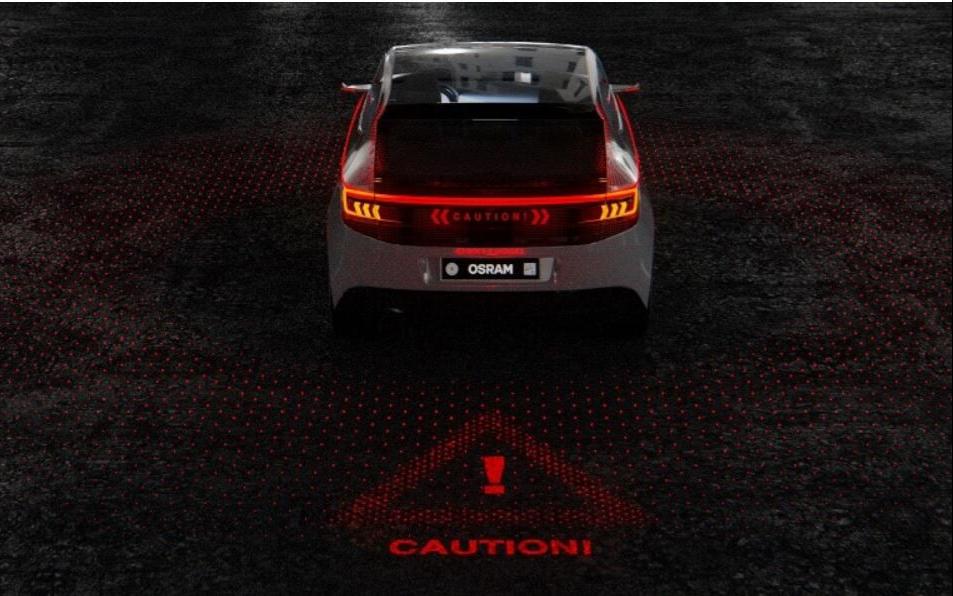 欧司朗点亮CES 2020,LED投影、车内外照明多款产品亮相