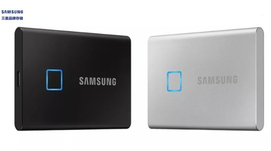 三星推出T7 Touch移动固态硬盘,将于2020年第二季度上市