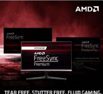 AMD公布全新FreeSync认证分级,分为了三个等级