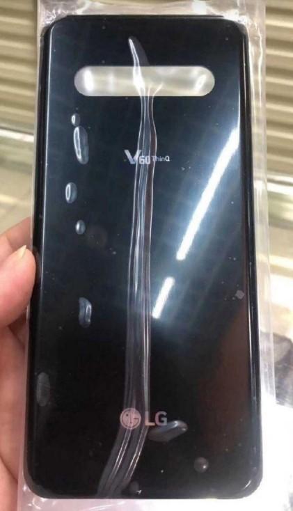 LG V60 ThinQ背部面板曝光,后置摄像头...