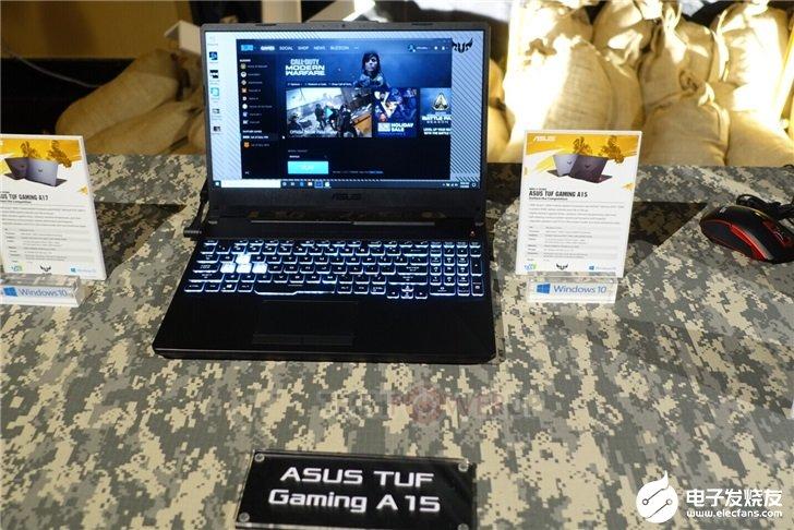 華碩發布兩款產品規格相似的TUG A系列游戲本