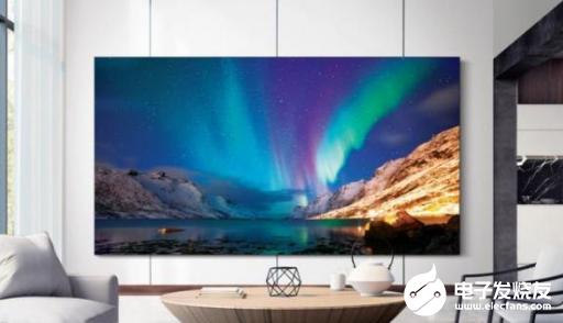 三星推出了无边框QLED 8K电视 在CES 2...