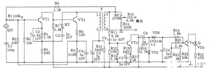 12kHz信号发生器电路图