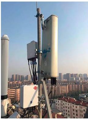 爱立信携手山东联通和OPPO开通的全球首个混模站...
