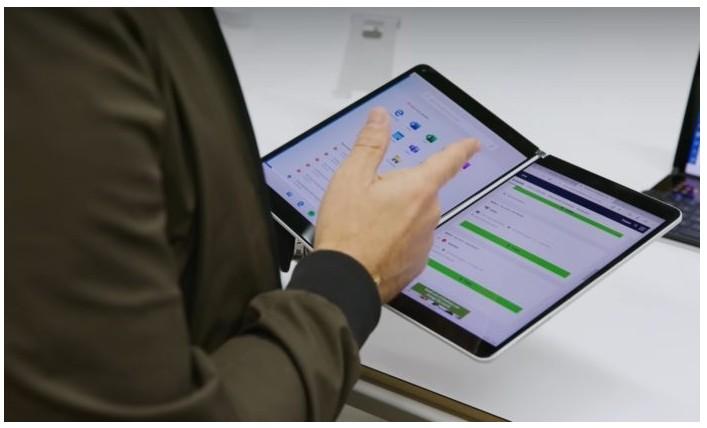 微软提高Surface Neo应用程序开发质量的新专利