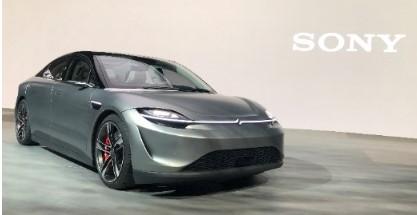 索尼对外发布VISION-S首辆原型车,融合索尼...