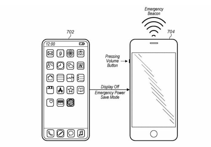 苹果新专利iPhone没有信号也能发送紧急信号