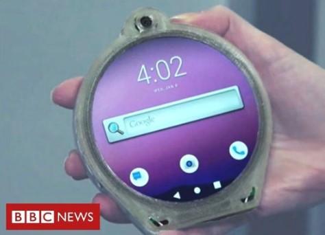 采用圆形设计的Cyrcle概念手机亮相,运行Android 9系统