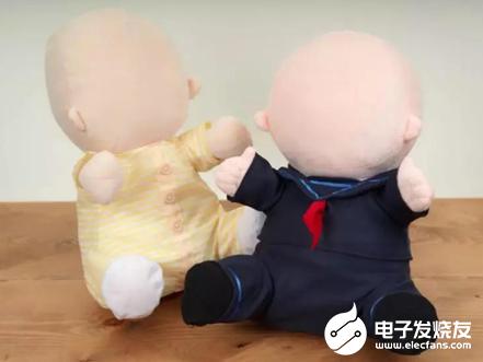 日本推出没有脸的机器人宝宝 认为有脸会降低说服力...
