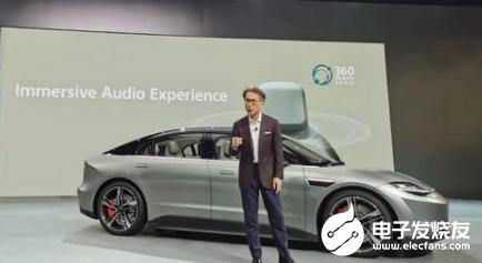 索尼进军汽车领域,发布首款纯电动概念车VISION-S