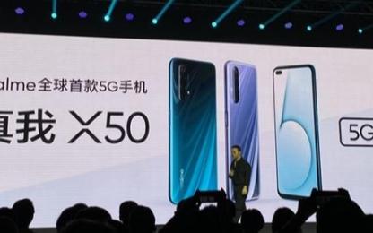 realme X50配置已公布,搭载骁龙765G+全系120Hz畅速屏