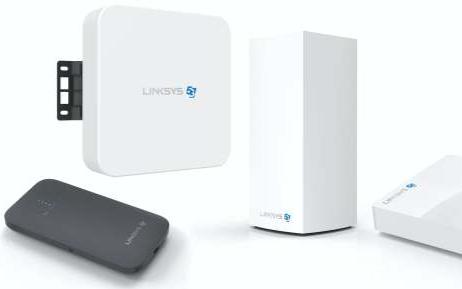 Linksys首次推出5G热点,调制解调器,网状网关和室外路由器