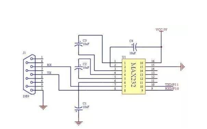 单片机并行数据转换为串行数据的仿真电路图