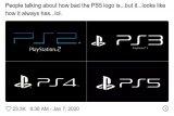 索尼PS5 Logo遭网友吐槽 称其懒癌发作