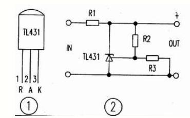 使用TL431制作大功率可调稳压电源的原理和电路图说明
