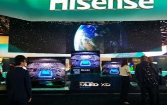 CES 2020展会海信的双屏叠屏电视引发了关注