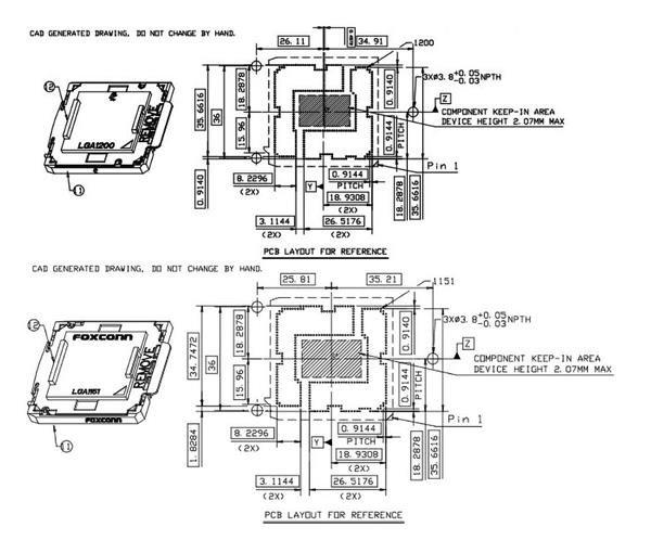 十代酷睿处理器升级到LGA1200插槽,因为功耗更高了