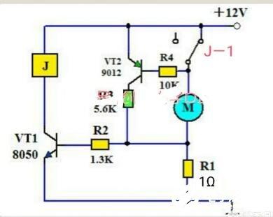 電機停轉后自動斷電的方法