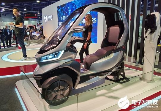 全球首款自动驾驶三轮电动摩托车 将会在2020年...