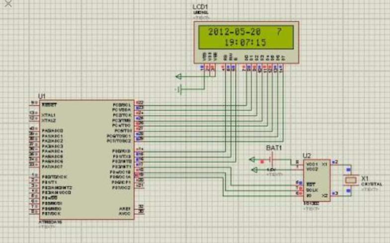 电流和电压采集的LCD1602显示程序免费下载
