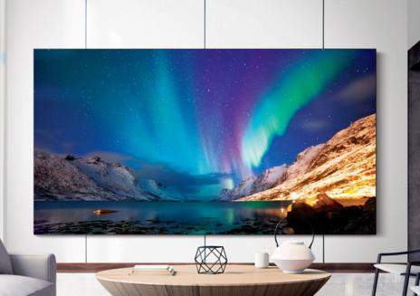 三星电子在CES展会上发布了下一代QLED 8K电视系列新品