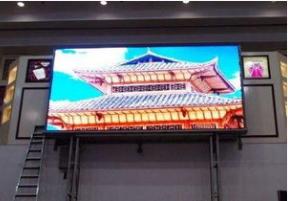 LED電子顯示屏的五種安裝方式介紹