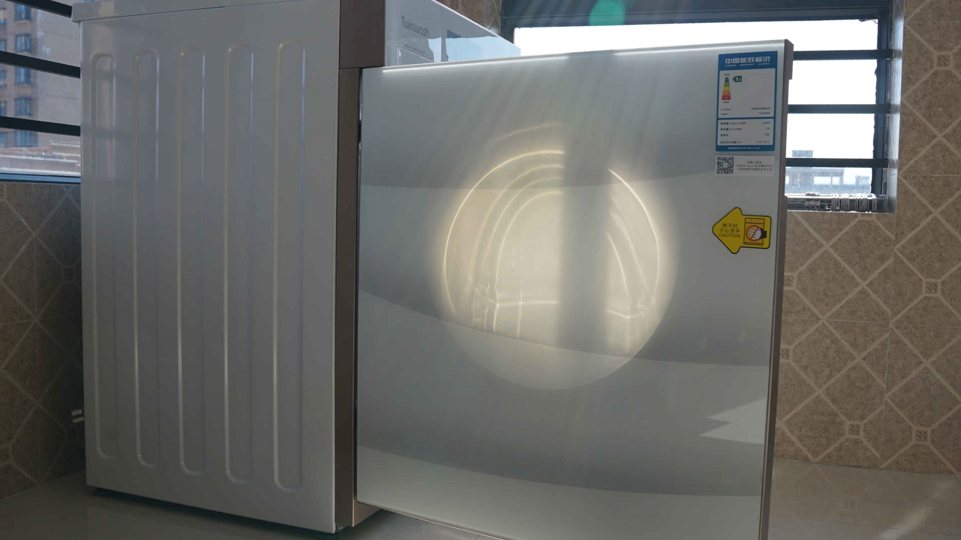 壹周新訊Twinwash嵌入式滾筒洗衣機開箱