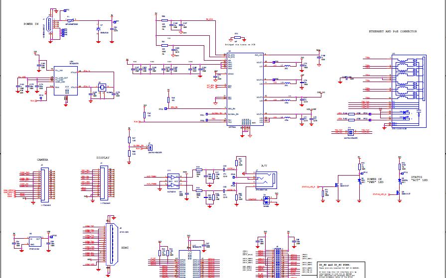 树莓派Raspberry Pi 3 Model B+的电路原理图免费下载