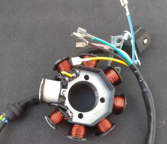 磁电机不发电怎么回事_磁电机五线接线图