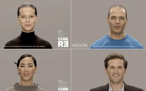 三星Neon人工智人项目公开,还能通过图灵测试