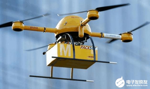 世界上第一个消费品无人机交付试验启动 可以携带5到15公斤的重量