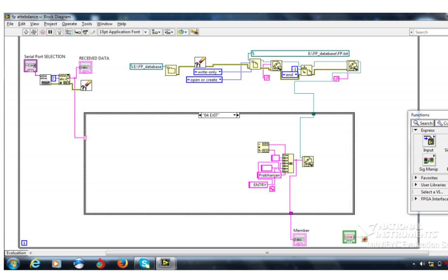 使用单片机和LabVIEW设计指纹考勤系统的详细资料说明