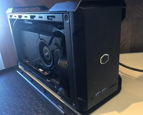 酷冷至尊推出NC100迷你主机,支持最多3个M.2 NVMe存储设备