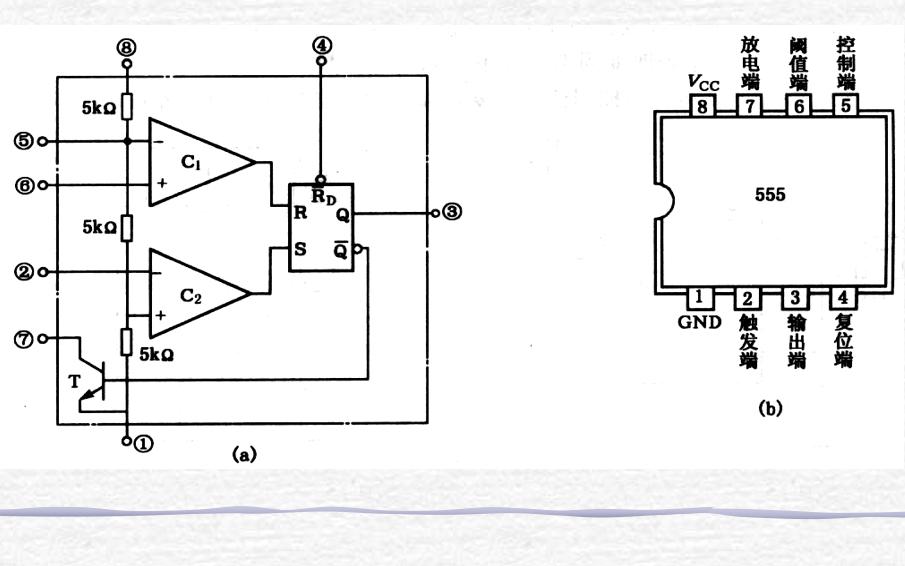 555集成定時器的資料簡介和應用及實驗資料說明