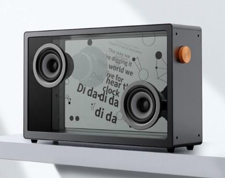 MORROR ART蓝牙音箱发起众筹,采用透明设计