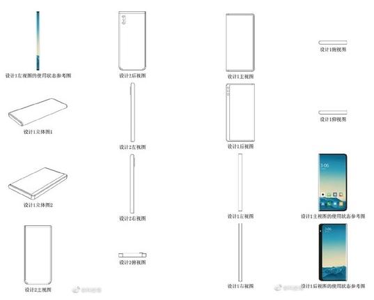 小米MIX Alpha环幕屏手机曝光采用了360?#28982;?#32469;设计
