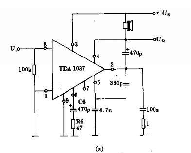 低頻集成放大器電路圖
