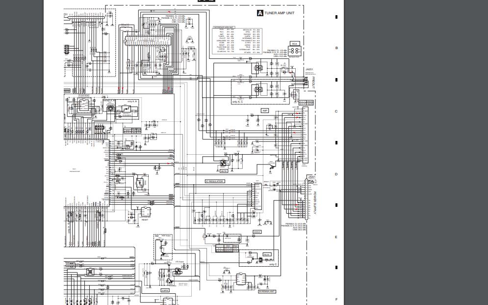 PA2030A功放板的电路图合集免费下载