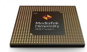 聯發科面向中高端5G智能手機正式發布了天璣800系列5G芯片
