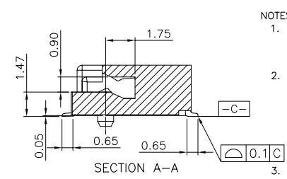 PCI67PIN接插件NGFF连接器的规格原理图免费下载