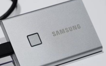 三星新推出内置指纹识别器的外置固态硬盘