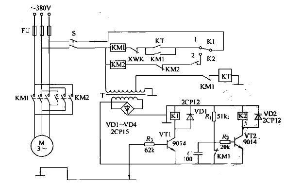 自动跟踪信号器的电路图