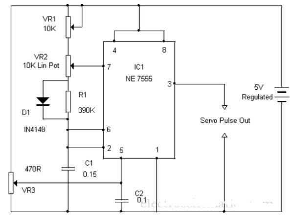 两款伺服电机控制电路图