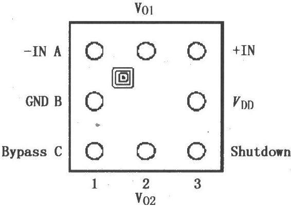 LM4904的引脚排列_LM4904音频放大电路图